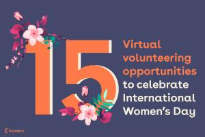 15 virtual volunteering opportunities to celebrate International Women's Day